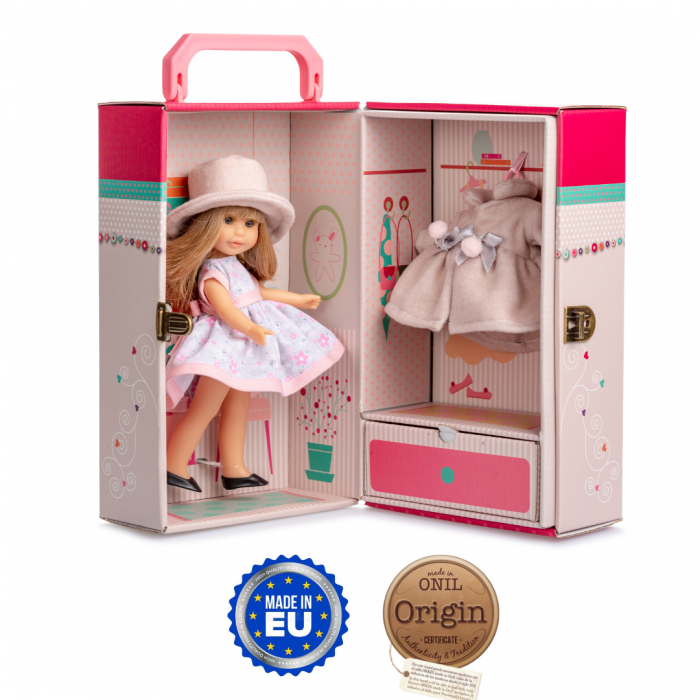 Papusa Irene Rubia set, colectia Boutique, Berjuan handmade luxury dolls [0]