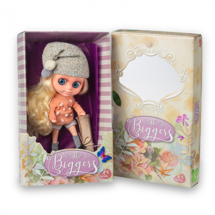 Papusa Chrissy Collins, colectia The Biggers, Berjuan handmade luxury dolls. 1