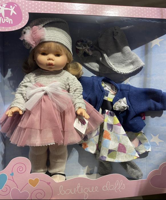 Papusa Diana, colectia Trousseau Collete, Berjuan handmade luxury dolls 6