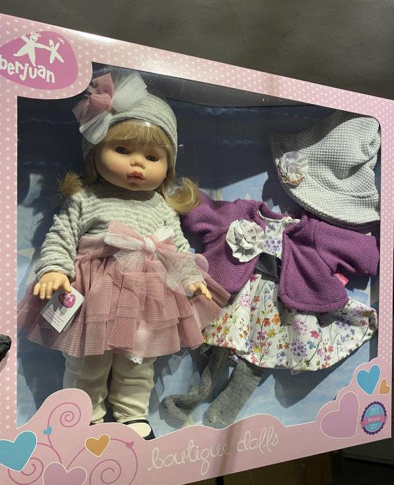 Papusa Diana, colectia Trousseau Collete, Berjuan handmade luxury dolls 1
