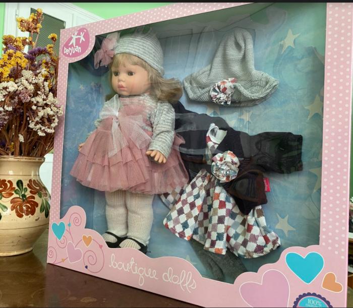 Papusa Diana, colectia Trousseau Collete, Berjuan handmade luxury dolls 0