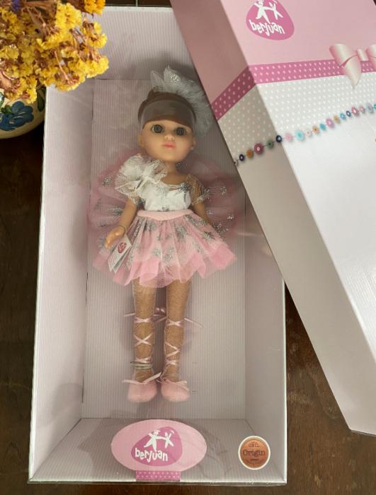 Papusa balerina Eli, colectia Boutique, Berjuan handmade luxury dolls 3