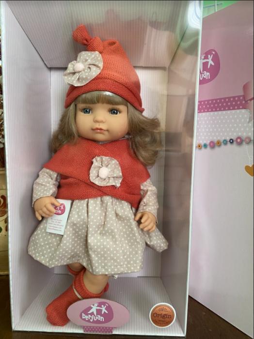 Papusa fetita  Claudia, colectia Boutique, Berjuan handmade luxury dolls 3
