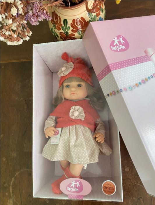 Papusa fetita  Claudia, colectia Boutique, Berjuan handmade luxury dolls 4
