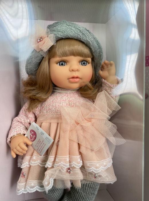 Papusa fetita Laura, colectia Boutique, Berjuan handmade luxury dolls 2