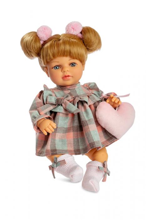 Papusa fetita Sofia cu mecanism, colectia Boutique, Berjuan handmade luxury dolls 0