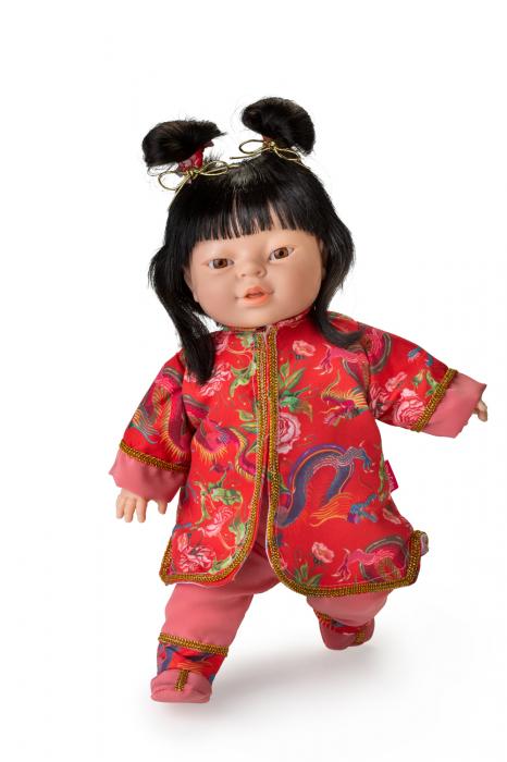 Papusa fetita Tara, colectia Educativa Friends of the World, Berjuan luxury dolls [0]