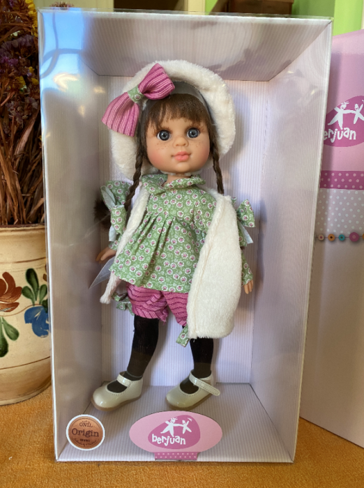 Papusa Alison, colectia My Girl, Berjuan handmade luxury dolls 1