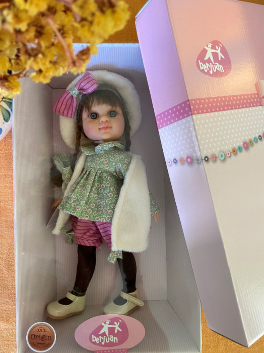 Papusa Alison, colectia My Girl, Berjuan handmade luxury dolls 3