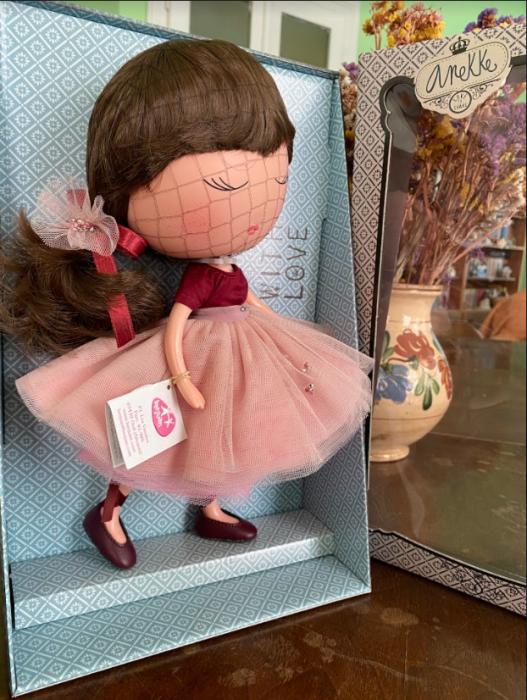 Papusa Anekke, colectia Ballerina, Berjuan handmade luxury dolls [3]