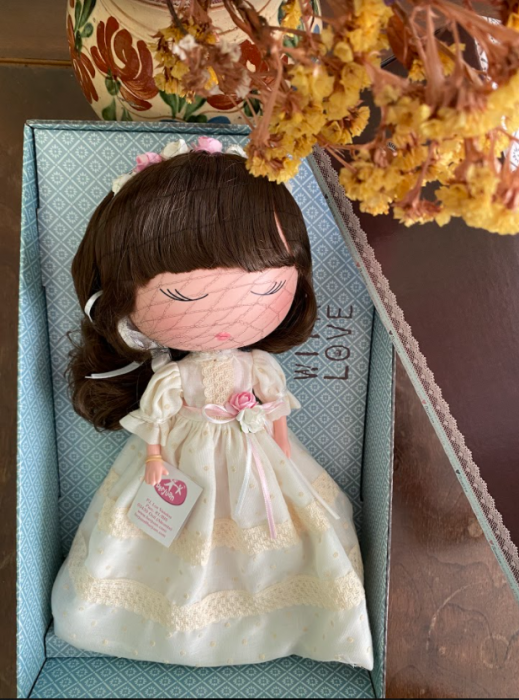 Papusa Anekke, colectia Communion, Berjuan handmade luxury dolls [1]