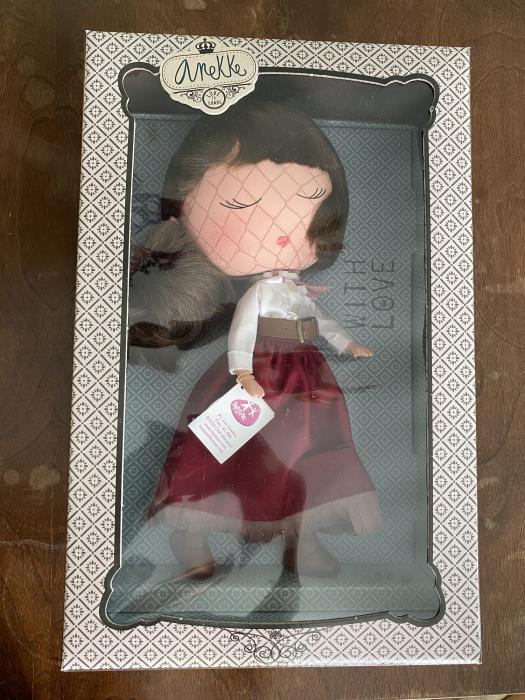 Papusa Anekke, colectia Country, Berjuan handmade luxury dolls 3