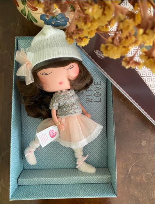 Papusa Anekke, colectia Invierno, Berjuan handmade luxury dolls 2
