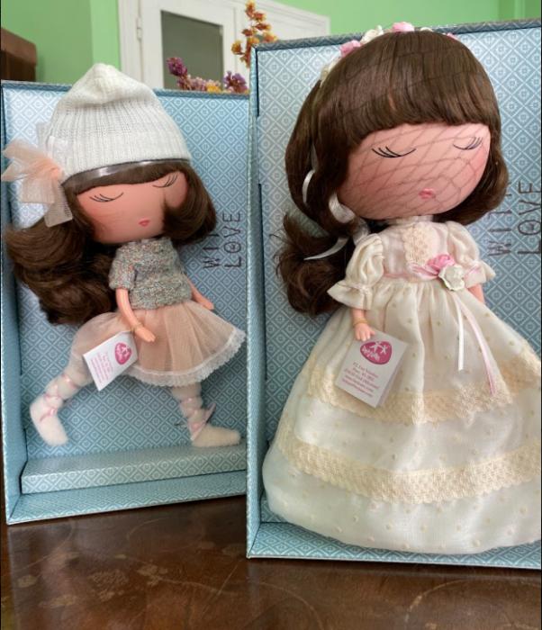 Papusa Anekke, colectia Invierno, Berjuan handmade luxury dolls 5