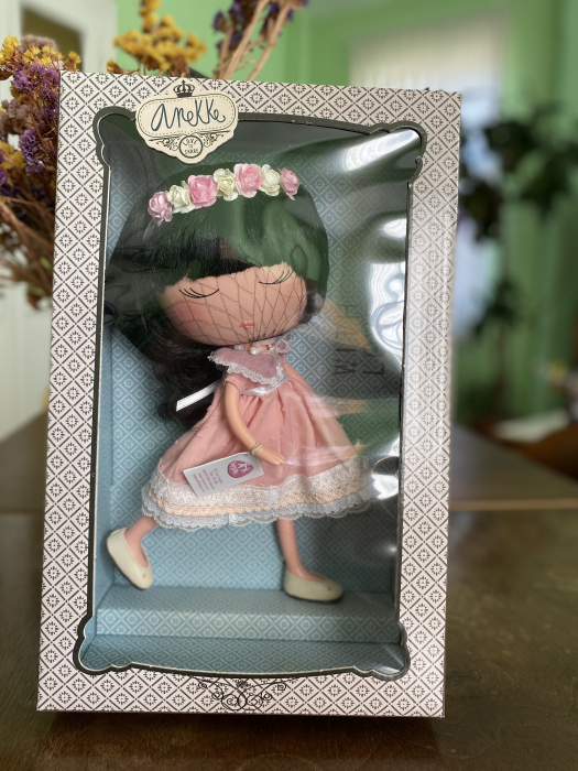 Papusa Anekke, colectia Nature, Berjuan handmade luxury dolls 3