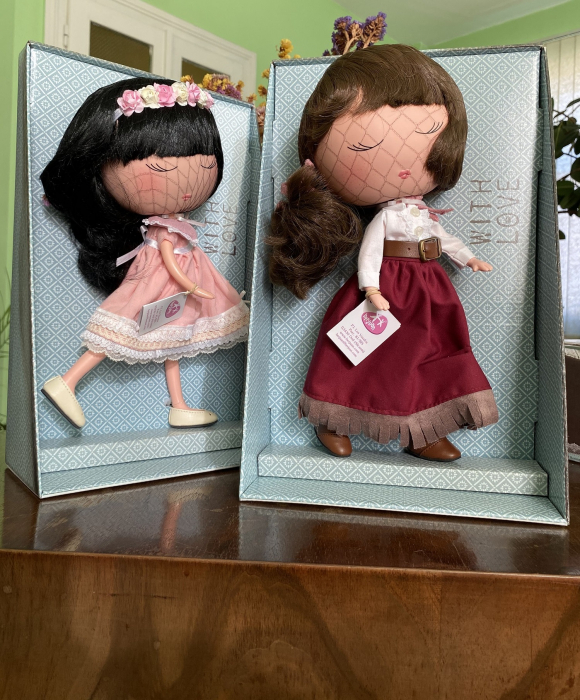 Papusa Anekke, colectia Nature, Berjuan handmade luxury dolls 4