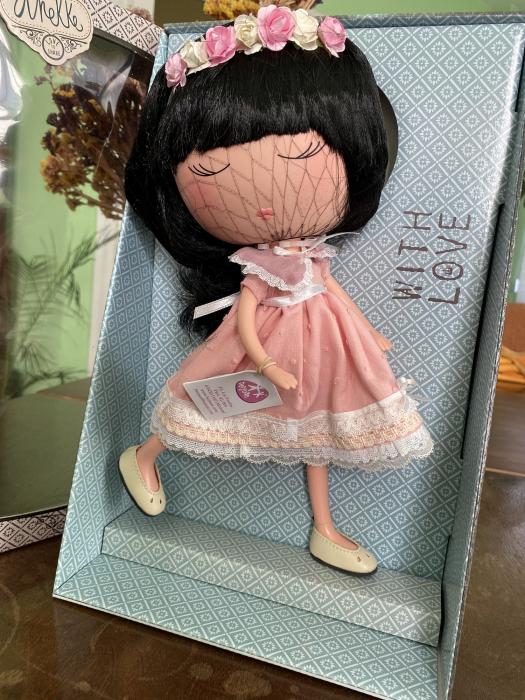 Papusa Anekke, colectia Nature, Berjuan handmade luxury dolls 2