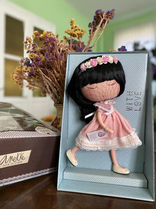 Papusa Anekke, colectia Nature, Berjuan handmade luxury dolls 1