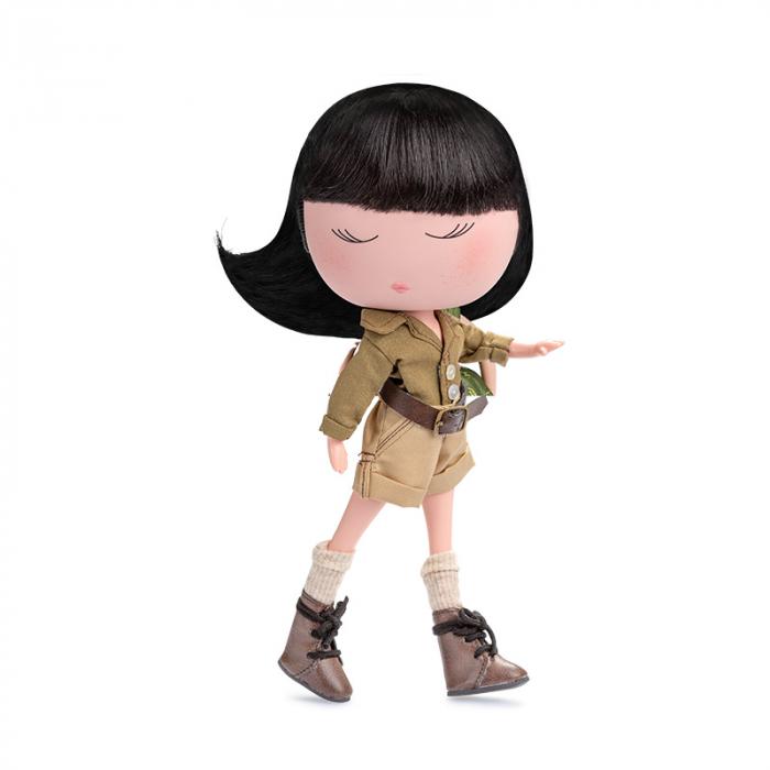 Papusa Anekke, colectia Safari, Berjuan handmade luxury dolls [0]