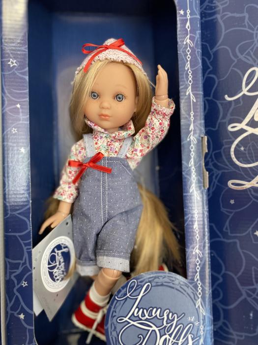 Papusa handmade Bonita Deluxe, Editie Limitata, colectia Eva, Berjuan luxury dolls [1]