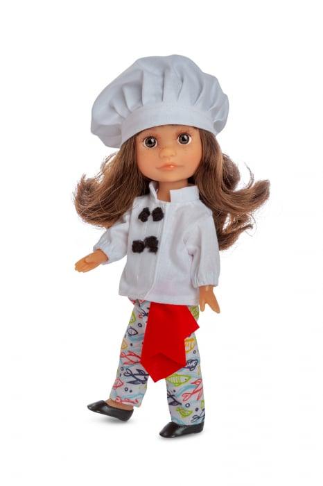 Papusa chef bucatar Luci, colectia Boutique, Berjuan handmade luxury dolls [0]