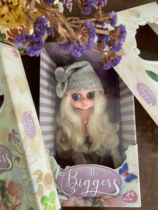 Papusa Chrissy Collins, colectia The Biggers, Berjuan handmade luxury dolls. 2