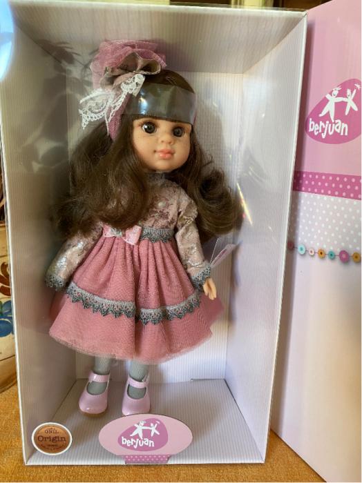Papusa handmade Francesca, colectia Boutique, Berjuan handmade luxury dolls 1