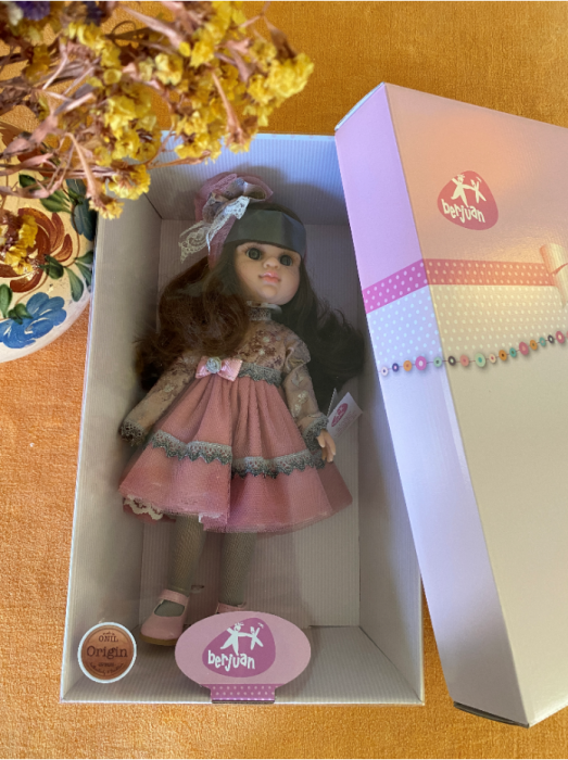 Papusa handmade Francesca, colectia Boutique, Berjuan handmade luxury dolls 3