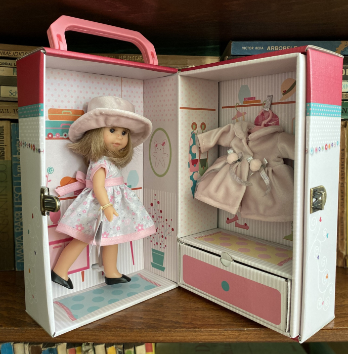 Papusa Irene Rubia set, colectia Boutique, Berjuan handmade luxury dolls [2]