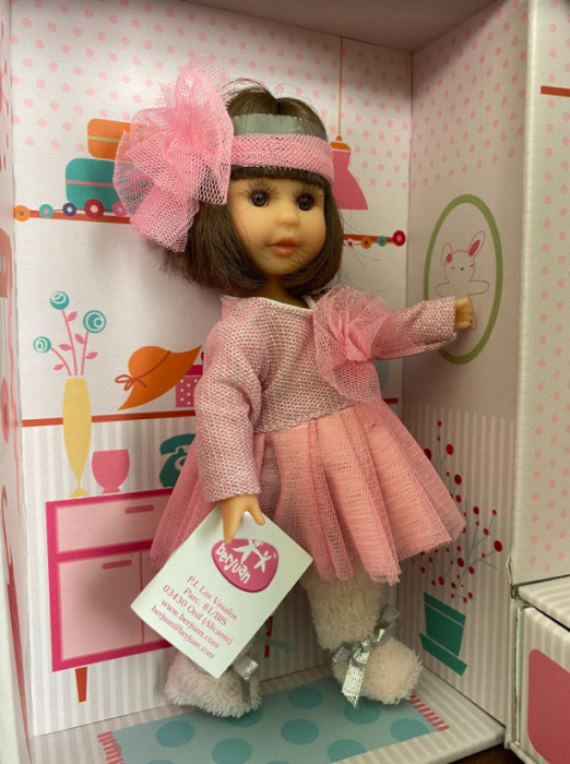Papusa Irene set, colectia Boutique, Berjuan handmade luxury dolls 4