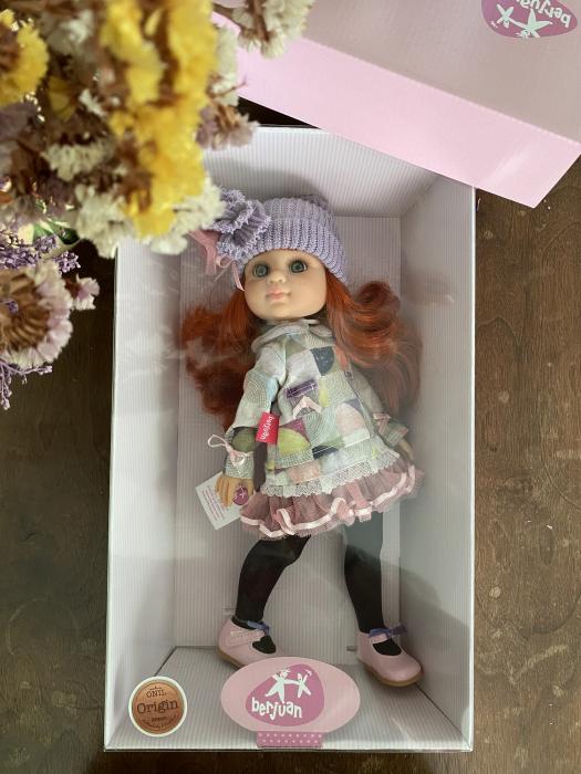 Papusa Pelirroja Lila, colectia My Girl, Berjuan handmade luxury dolls [2]