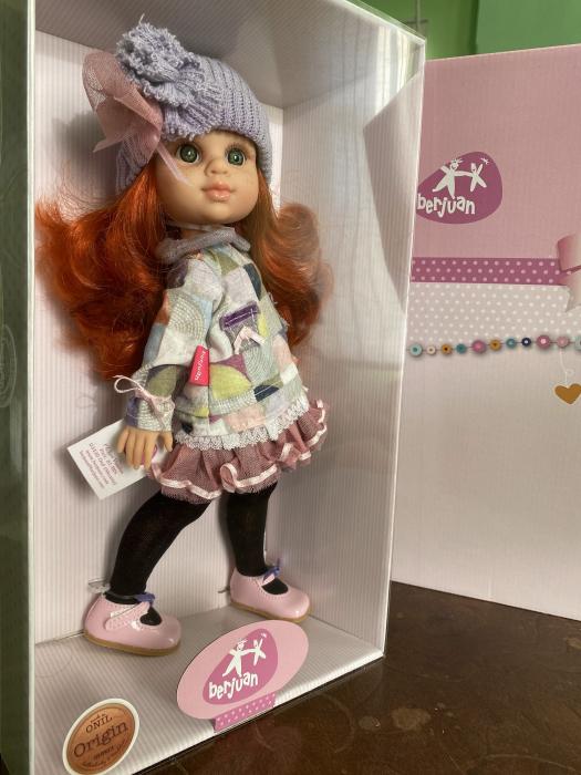 Papusa Pelirroja Lila, colectia My Girl, Berjuan handmade luxury dolls [4]
