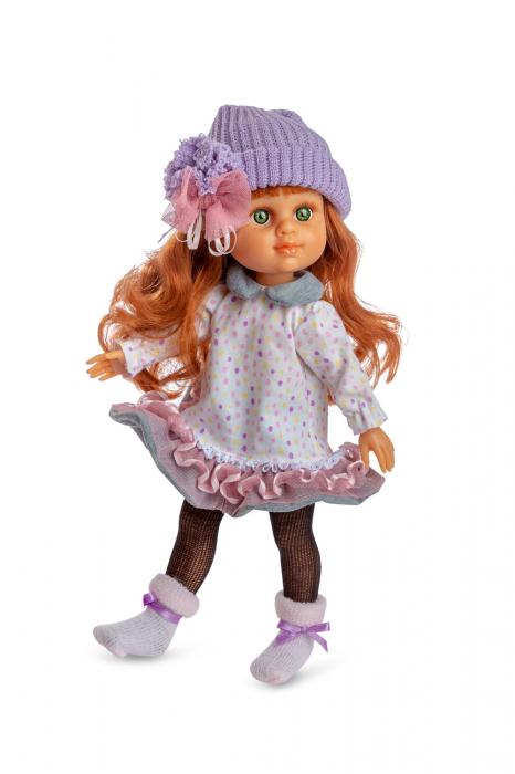 Papusa Pelirroja Lily, colectia My Girl, Berjuan handmade luxury dolls [0]