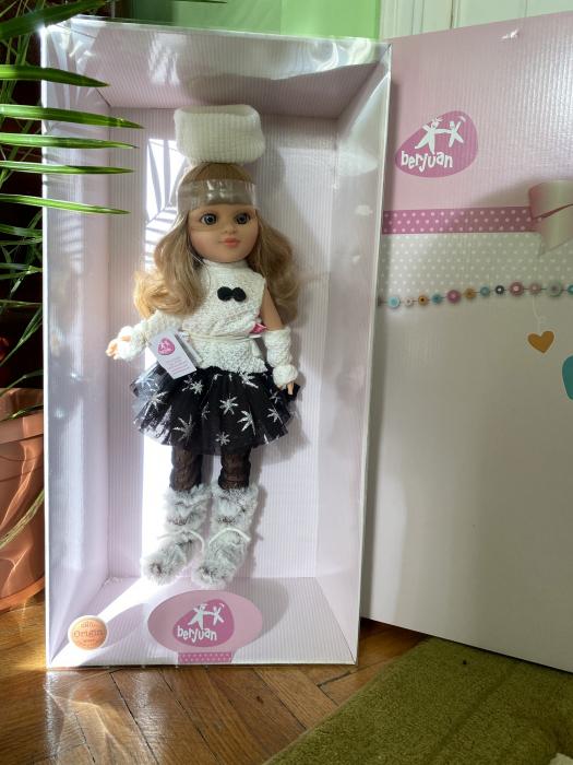 Papusa Sofy Rubi, colectia Sofy, Berjuan handmadeluxury dolls 2