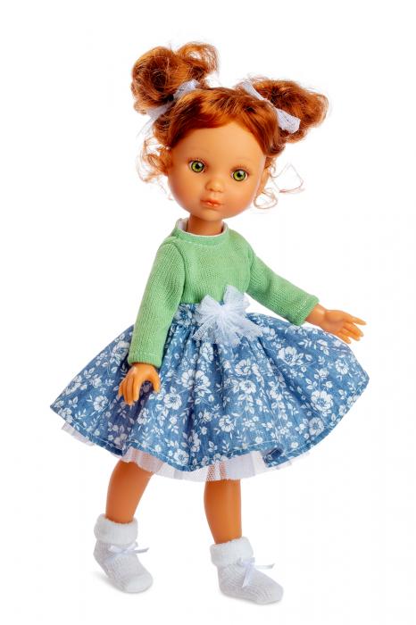 Papusa handmade Rubia Jersey, colectia Eva, Berjuan luxury dolls [0]