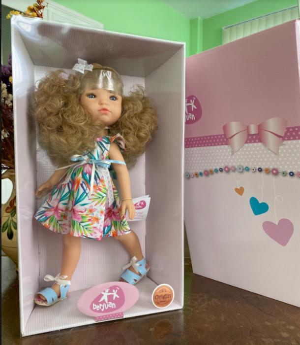 Papusa Ruby, colectia MyGirl, Berjuan handmade luxury dolls 3