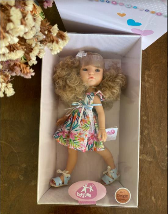 Papusa Ruby, colectia MyGirl, Berjuan handmade luxury dolls 2