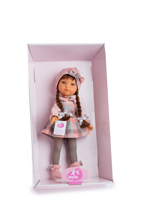 Papusa Jimena Trenzas, colectia My Girl, Berjuan handmade luxury dolls [1]