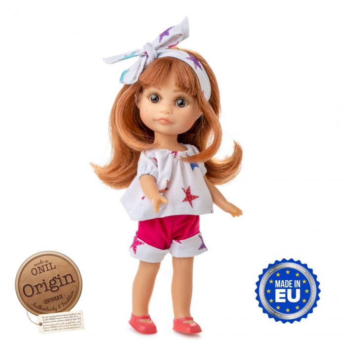 Papusa Luci, roscata, colectia Boutique, Berjuan handmade luxury dolls 0