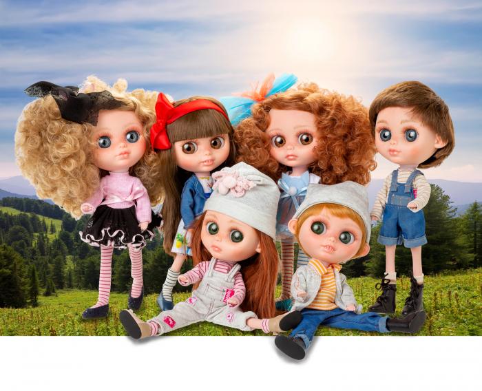 Papusa Margaret Frost, colectia The Biggers, Berjuan, handmade luxury dolls 1