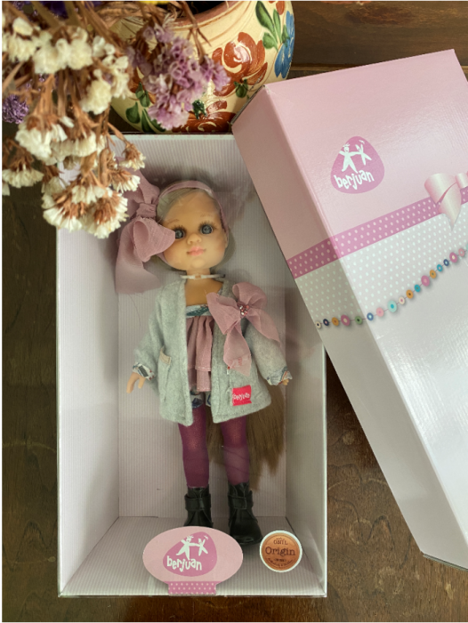 PapusaMorena Lucia, colectia Boutique, Berjuan handmade luxury dolls 1