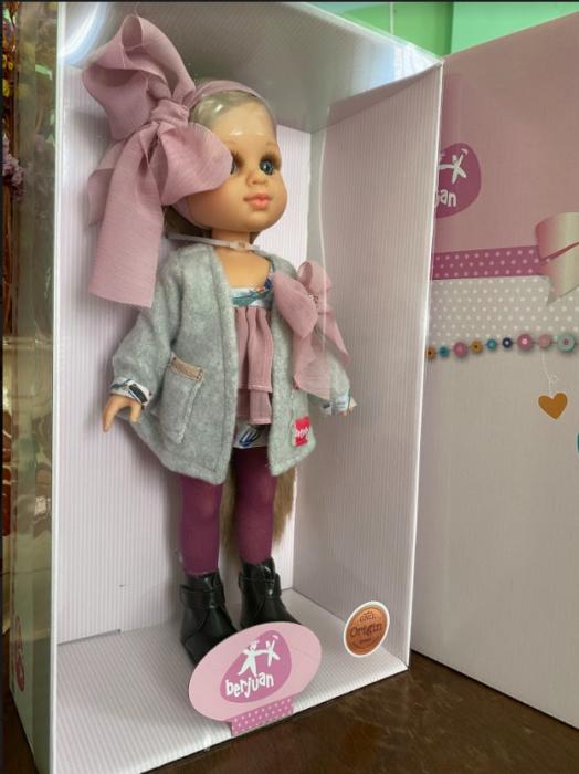 PapusaMorena Lucia, colectia Boutique, Berjuan handmade luxury dolls 2