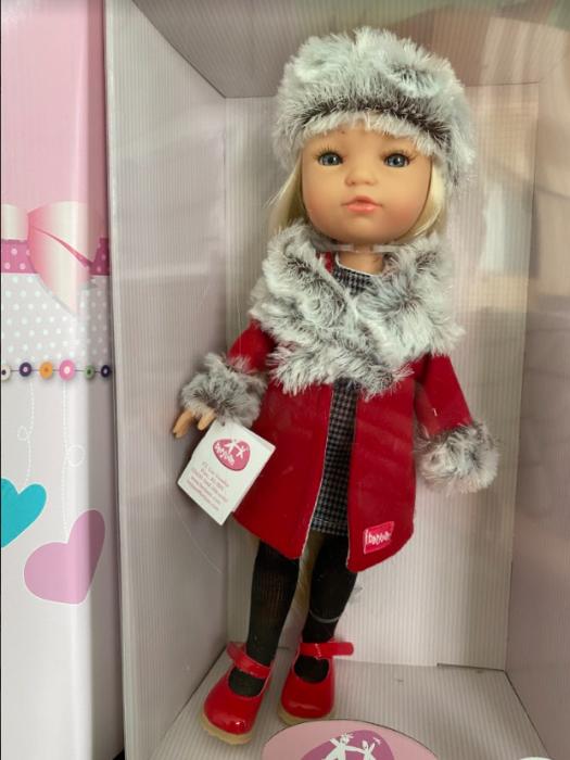 PapusaMorena Trenzas, colectia Boutique, Berjuan handmade luxury dolls 2