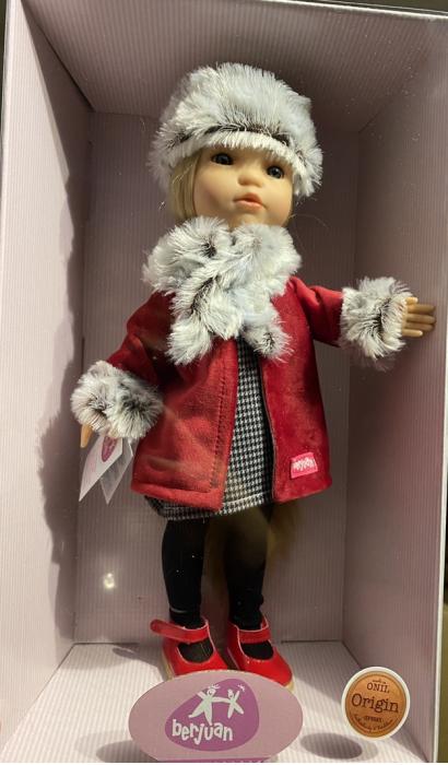 PapusaMorena Trenzas, colectia Boutique, Berjuan handmade luxury dolls 6