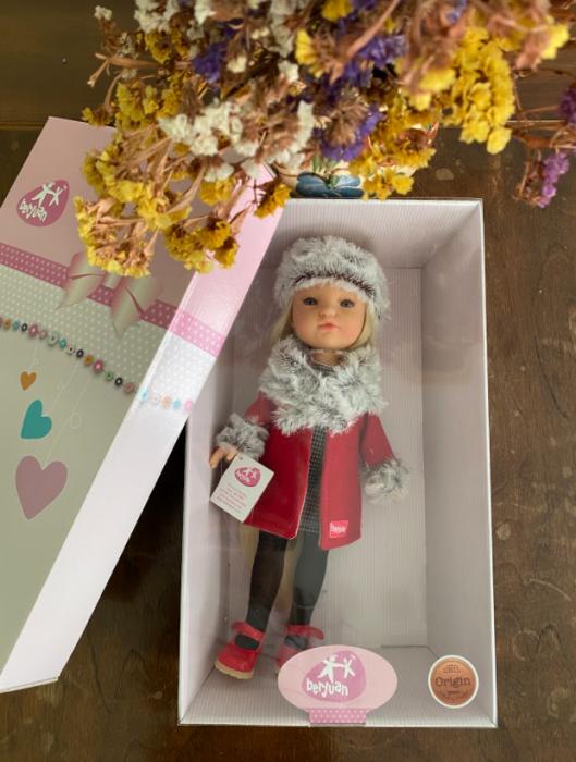 PapusaMorena Trenzas, colectia Boutique, Berjuan handmade luxury dolls 1