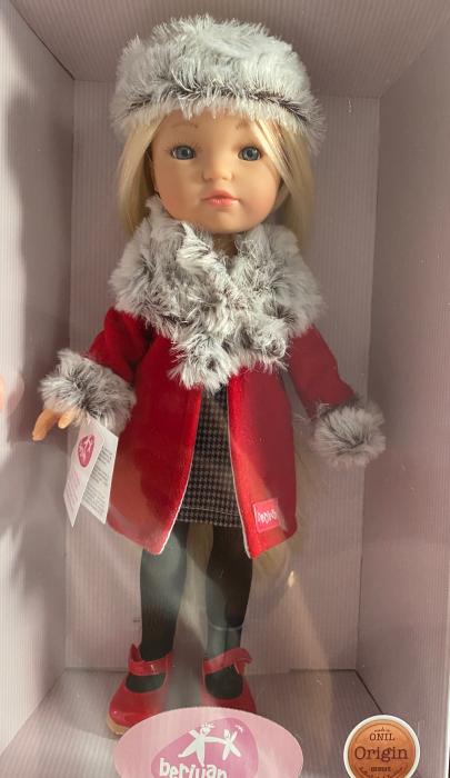 PapusaMorena Trenzas, colectia Boutique, Berjuan handmade luxury dolls 3