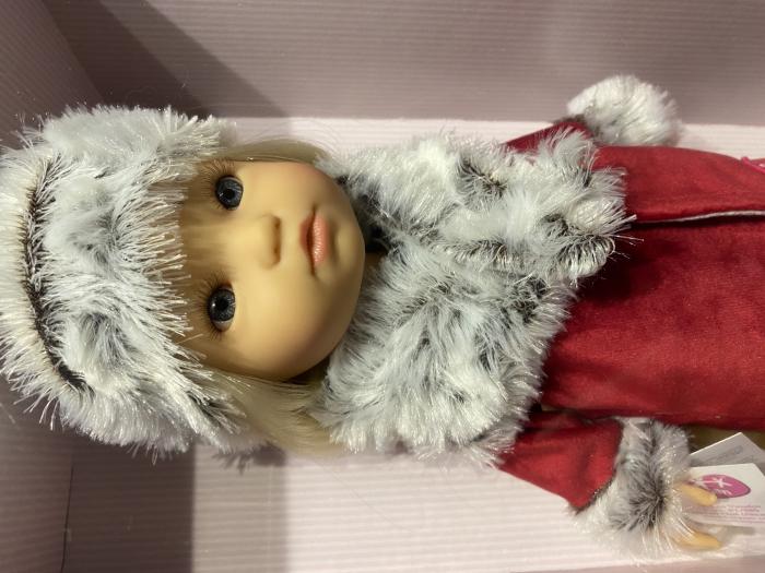 PapusaMorena Trenzas, colectia Boutique, Berjuan handmade luxury dolls 7