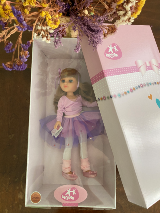 Papusa balerina Sara, colectia Boutique, Berjuan handmade luxury dolls 2