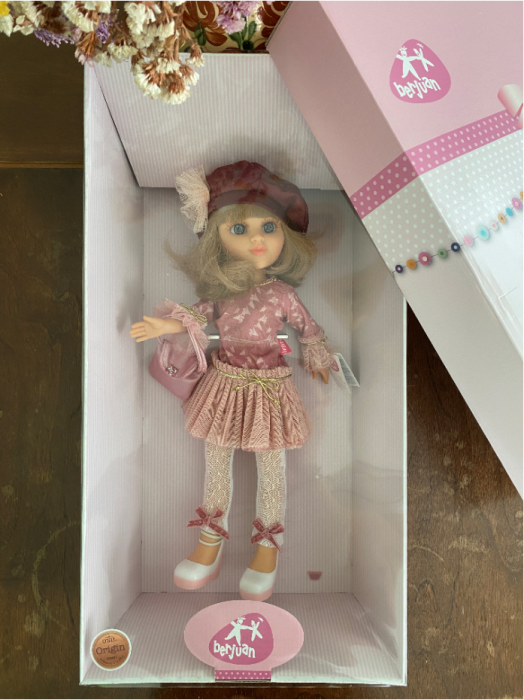 Papusa balerina Sofy Boina, colectia Boutique, Berjuan handmade luxury dolls 3