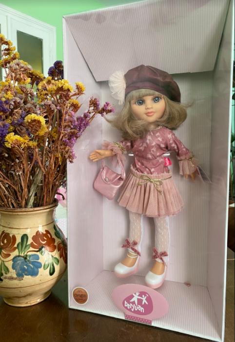 Papusa balerina Sofy Boina, colectia Boutique, Berjuan handmade luxury dolls 2